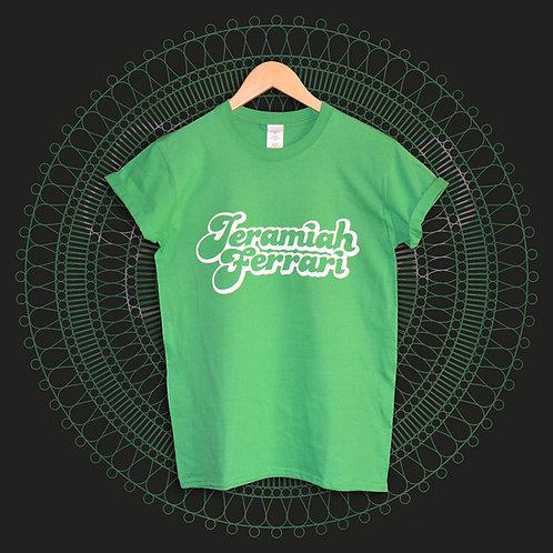 Kids Green Logo Tee