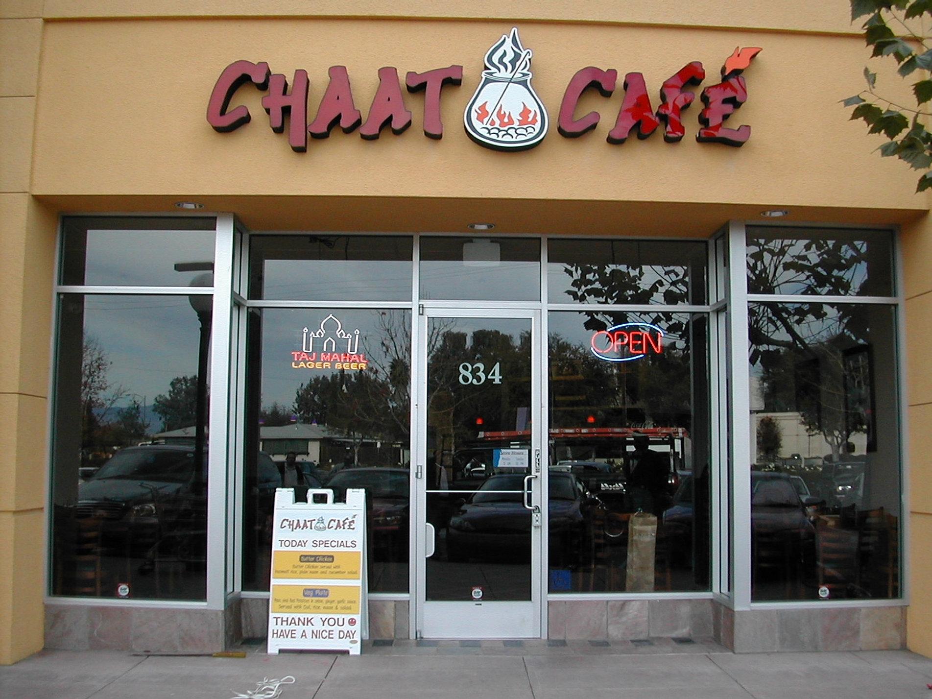 Chaat Cafe Blossom Hill Menu