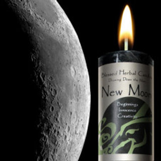 Candle Drawing Down the Moon New Moon