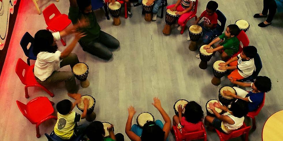 Children's Drum Program— Drums & Rhythm