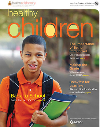 Max On Snax® highlighted in   HealthyChildren E-Magazine  from the healthychildren.org website