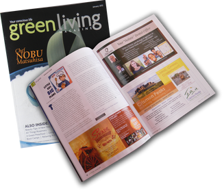 Max On Snax featured in Green Living Magazine!