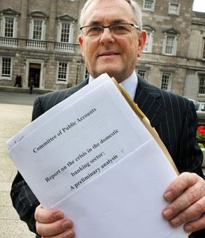 John McGuinness says NAMA appears to have misled Public Accounts Committee when he was Chairman