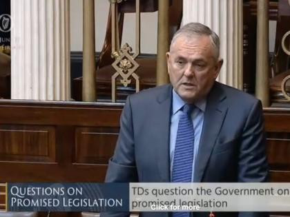 Deputy McGuinness - Questions on Promised Legislation - 26 Sep 2019