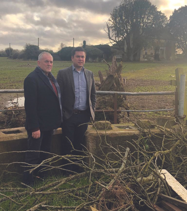 Hebron House Kilkenny - Deputy John McGuinness & Cllr. Andrew McGuinness