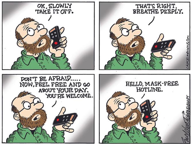 Mask-Free Hotline