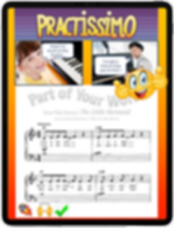 practissimo, music practice app, music practice, music lesson, practice, piano practice, violin practice, practice appg