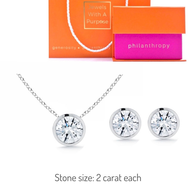 SIMPLE  & CHIC SET WHITE GOLD