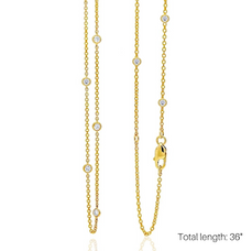 Love at First Spark in Yellow Gold