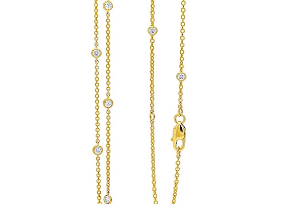 """Love at First Spark 36"""" in Yellow Gold"""