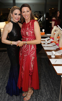 Dr. Margo Emami & Eliza at the SD Oscar party 2020