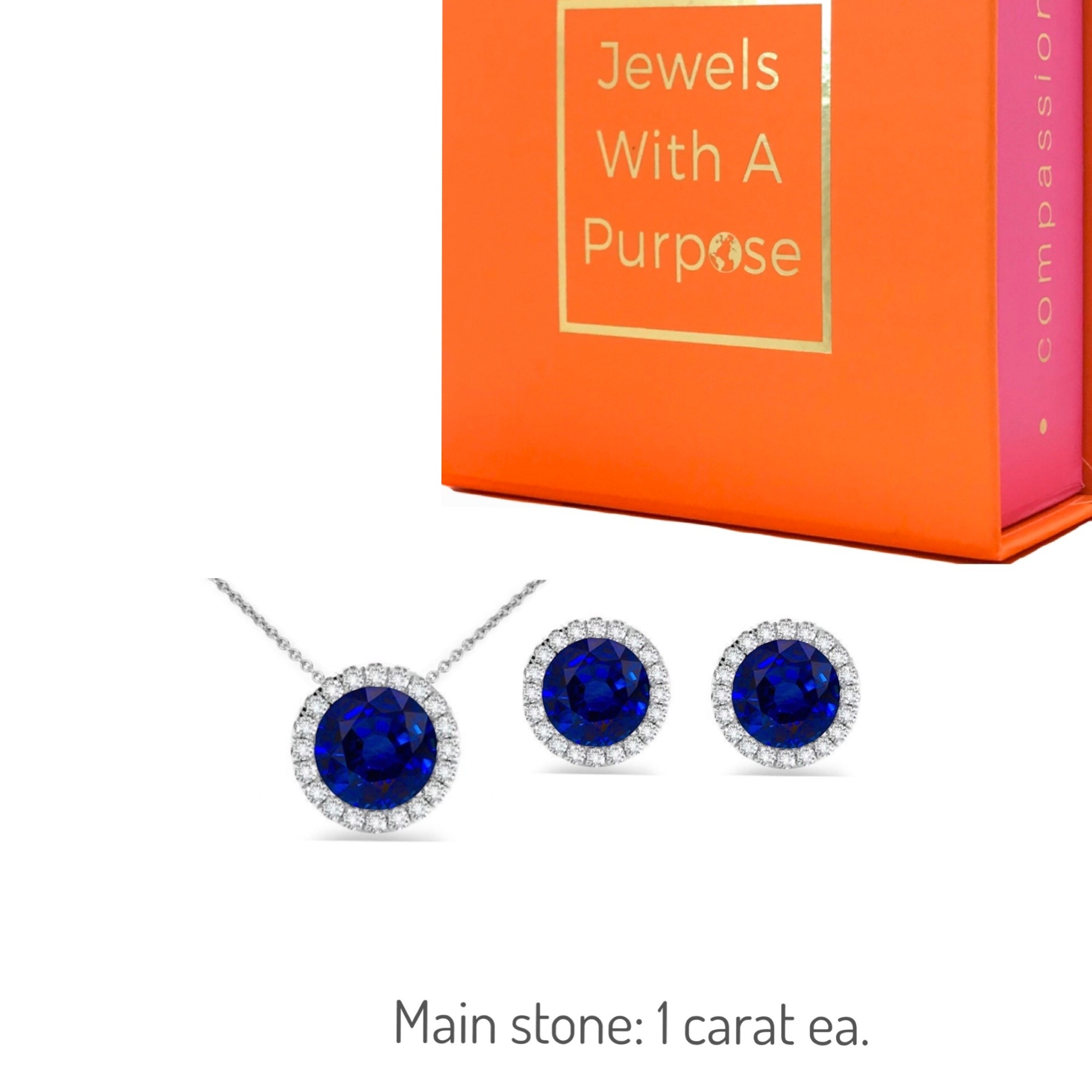 Modern Sapphires Set