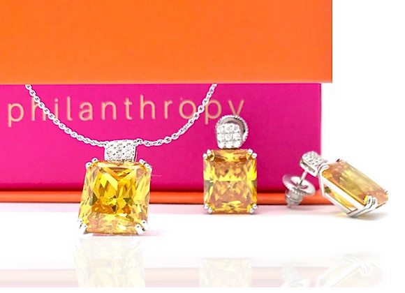 Striking Citrine Set