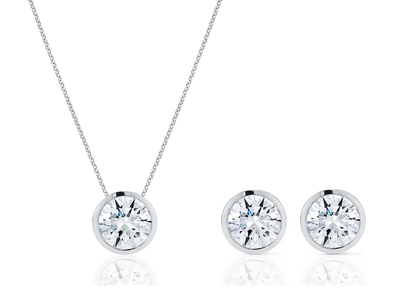 Simple & Chic Set in White Gold