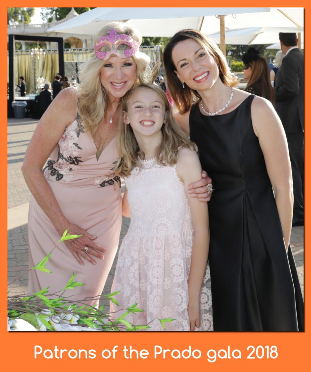 Kristy, Nicole, Eliza@ Patrons gala