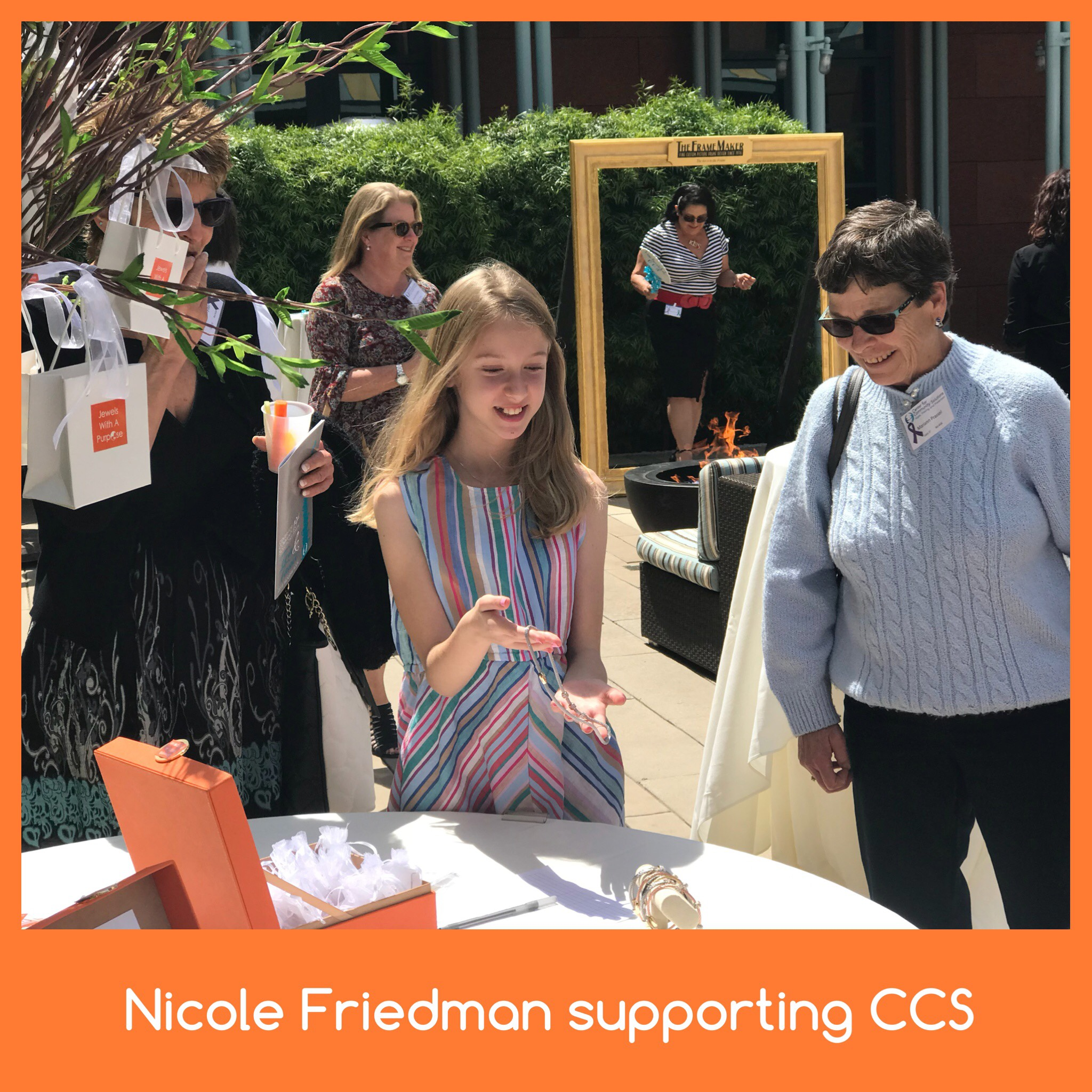 Nicole supporting CCS