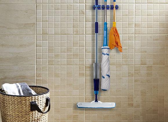Mop and broom holder (3 holders per set)