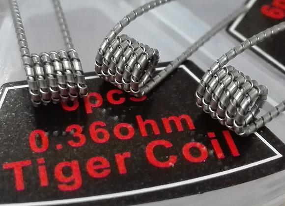 Готовая спираль TIGER COIL 0.36ohm