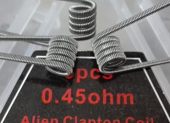 Готовая спираль ALIEN CLAPTON COIL 0.45ohm