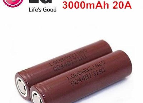 Аккумулятор Li-Ion 18650 LG 3000mAh 20A