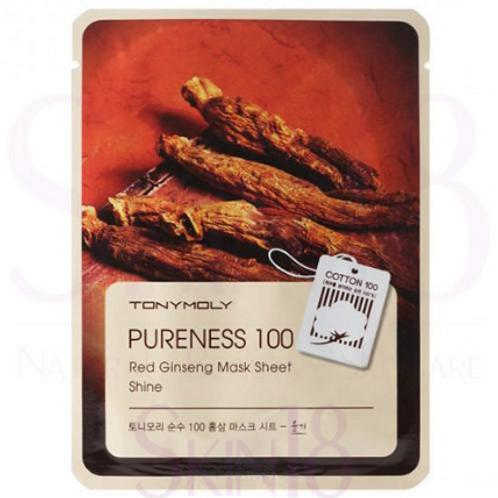 TONYMOLY Pureness 100 Red Ginseng Mask