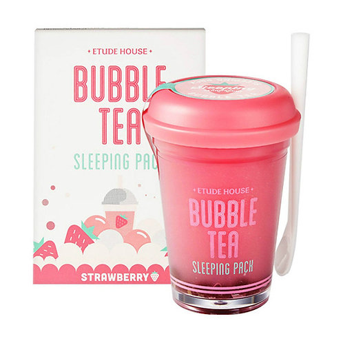 ETUDE HOUSE Bubble Tea Sleeping Pack (Strawberry)