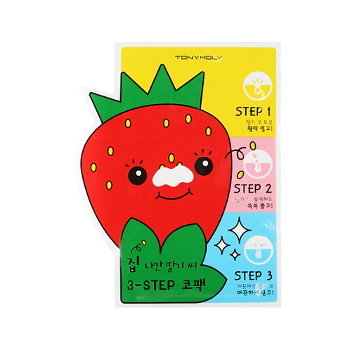 TONYMOLY Strawberry Nose Pack