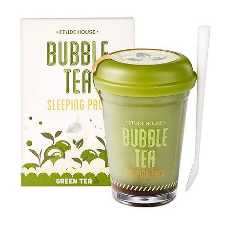 ETUDE HOUSE Bubble Tea Sleeping Pack (Green tea)