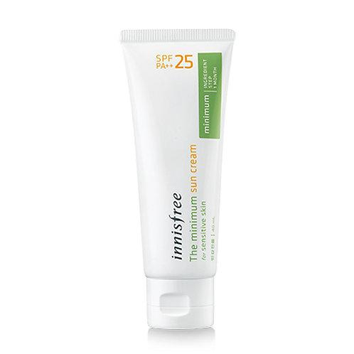 INNISFREE The Minimum Sun Cream spf 25