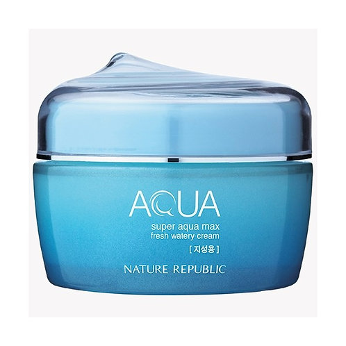 NATURE REPUBLIC Aqua Super Aqua Max Fresh Watery Cream - Oily Skin