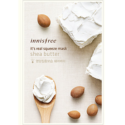 INNISFREE It's Real Squeeze Mask SHEA BUTTER