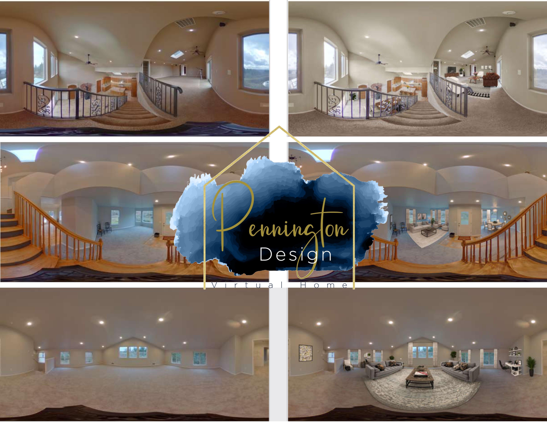 Virtual 360 Staging- 360 degree photo