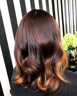 photo of balayage hair