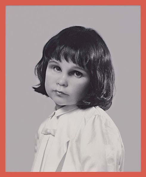 Figure 1. Gillian Wearing. Self-Portrait at Three Years Old. 2004