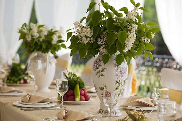 Table setting layout