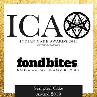ICA   Sculpted Cake Award in partnership with Fondbites, School of Sugar Art