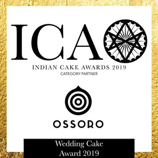 ICA Wedding Cake Award in partnership with Ossoro Flavours