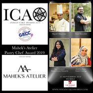 Mahek's Atelier Pastry Chef Award
