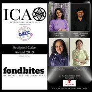 Sculpted Cake Award in partnership with Fondbites, School of Sugar Art