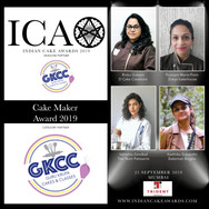 Cake Maker Award in partnership with GKCC- Guru Krupa Cakes and Classes