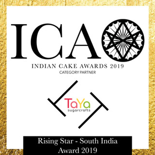 ICA Rising Star Award - South India in partnership with TaYa Sugarcrafts