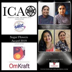 Sugar Flowers Award in partnership with Omkraft
