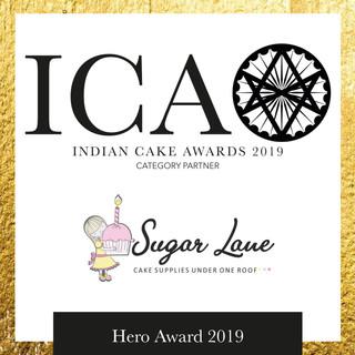 ICA Hero Award in partnership with SUGAR LANE