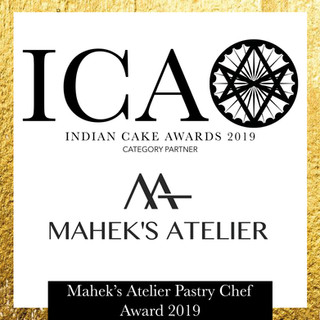 ICA Mahek's Atelier Pastry Chef Award 2019