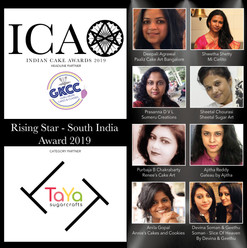 Rising Star Award - South India in partnership with TaYa Sugarcrafts