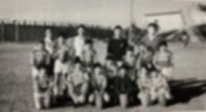 1975年の新潟市ジュニアラグビースクールの写真