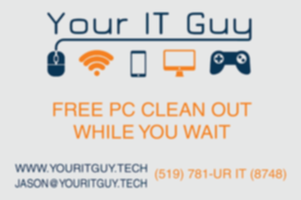 Free clean out voucher