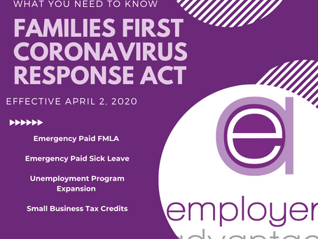 Families First Coronavirus Response Act is now a Law – What Your Small Business Needs to Know