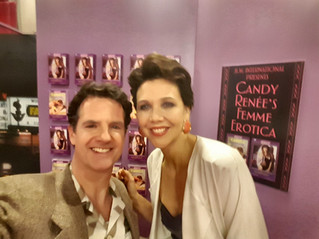 Working with Maggie Gyllenhaal                   -The Deuce