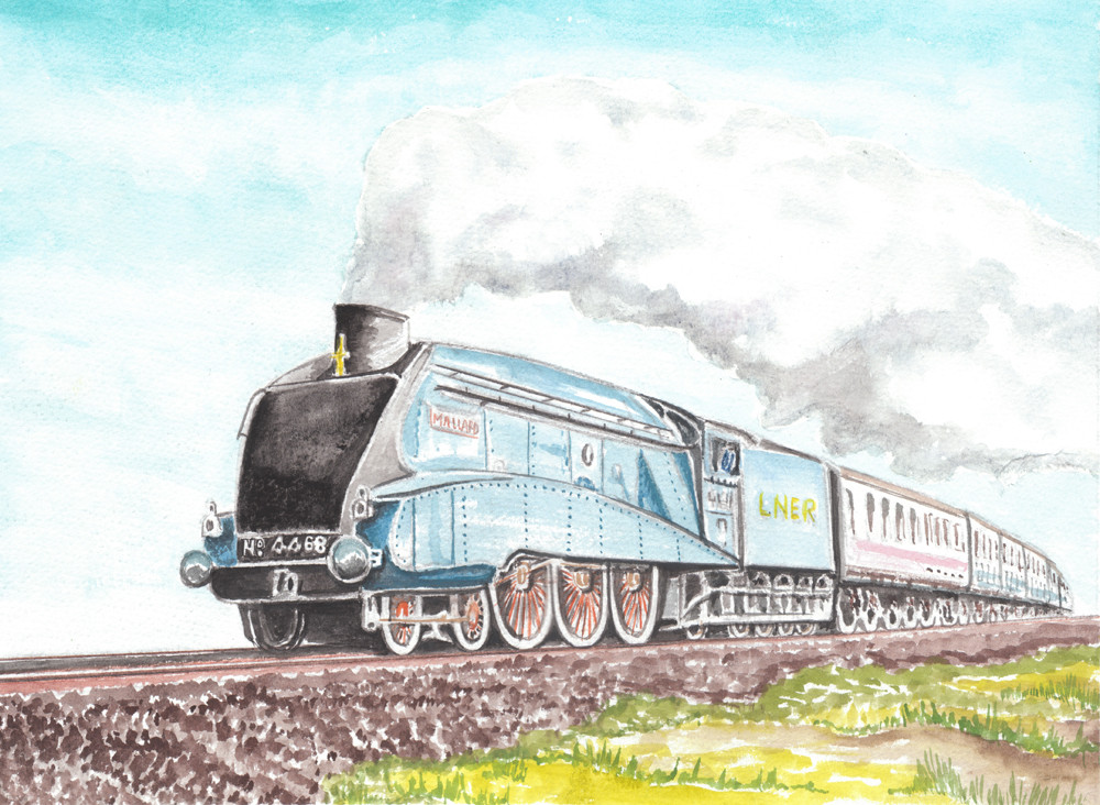 The Malllard Steam Locomotive